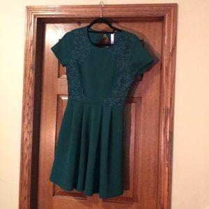 Francesca green dress